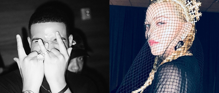 Tá preparado? Colaboração entre Drake e Madonna pode estar a caminho!