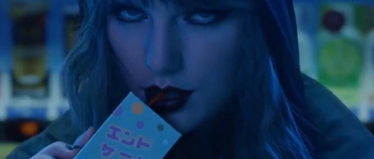 """Taylor Swift faz um brinde a sua reputação no clipe de """"End Game"""""""