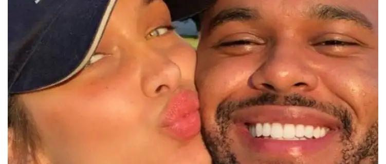 Romântico, The Weeknd posta fotos da namorada Bella Hadid para celebrar aniversário da modelo
