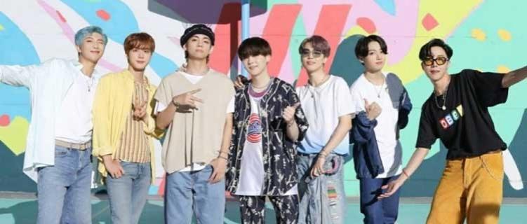 """""""Butter"""", do BTS, volta ao topo da parada de singles dos EUA e é a """"canção do verão"""" de 2021"""