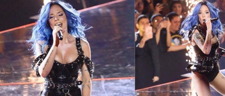 "MTV MIAW 2019: Halsey impacta com performance ousada de ""Nightmare"""