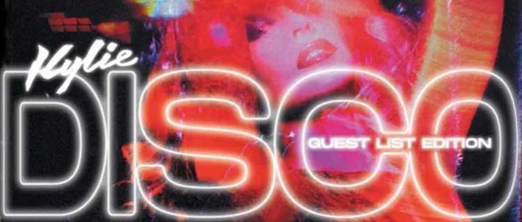 """Kylie Minogue anuncia reedição de """"DISCO"""" com Years & Years, Dua Lipa, Jessie Ware e Gloria Gaynor"""