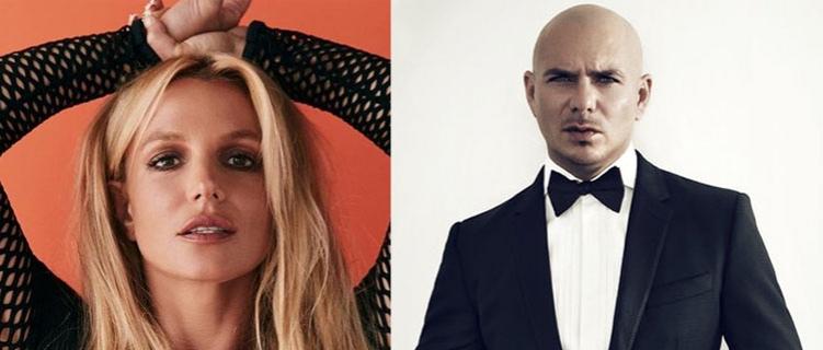 Música de Britney com Pitbull pode ser lançada semana que vem!