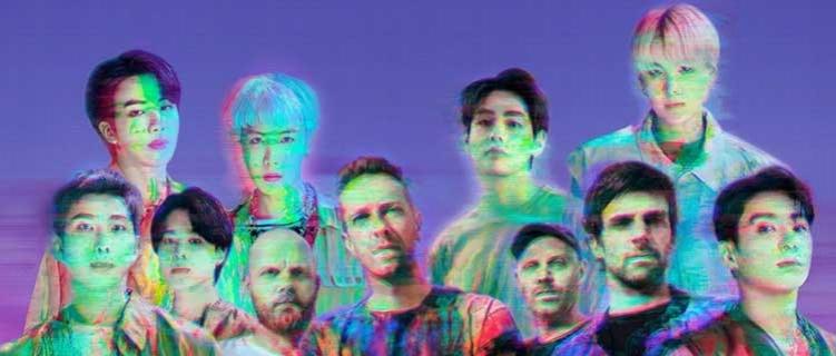 """""""My Universe"""", parceria do Coldplay e BTS, estreia direto no topo da parada americana de singles"""