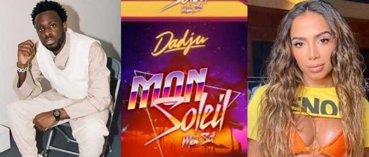 """Chique! Anitta anuncia """"Mon Soleil"""", faixa em francês com Dadju, para a próxima quinta (03)"""