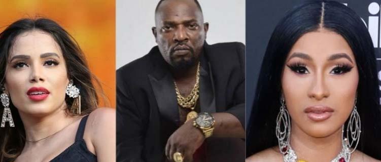 Parceria de Cardi B e Anitta terá participação póstuma de Mr. Catra e produção de Papatinho