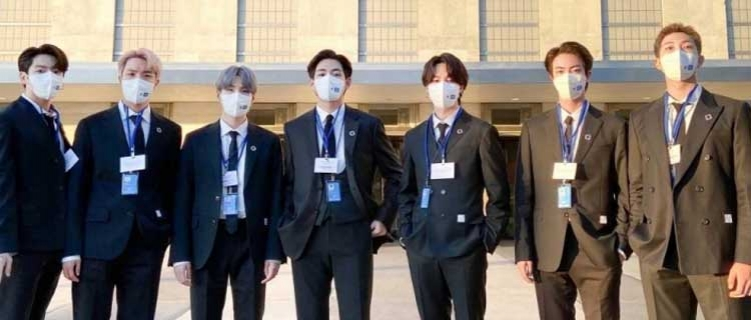 "BTS discursa na ONU e se apresenta com o single ""Permission To Dance"""