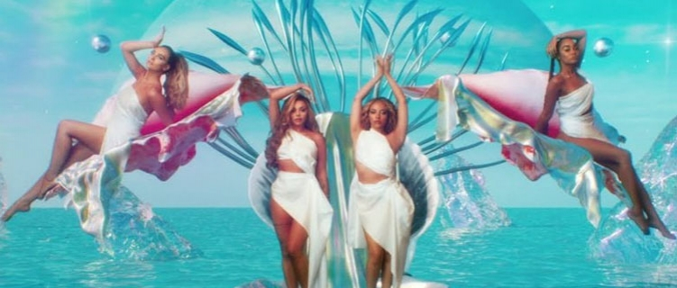 "Little Mix lança o clipe de ""Holiday""."
