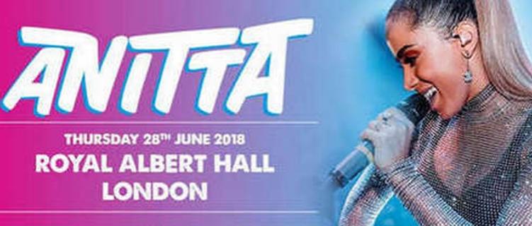 Anitta fará show em lendária casa de espetáculos de Londres