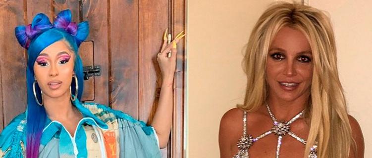 Cardi B manda mensagem de apoio para Britney Spears
