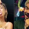 """Anitta e Thiago Martins gravam cenas de beijo para a novela """"Amor de Mãe"""". Veja as fotos!"""