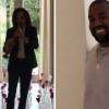 Kanye West faz surpresa de Valentine's Day para Kim Kardashian com muitas rosas e até Kenny G